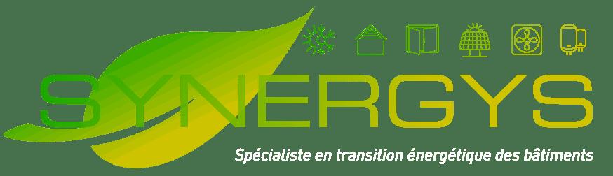 Logo Groupe synergys Spécialiste en transition énergétique des bâtiments