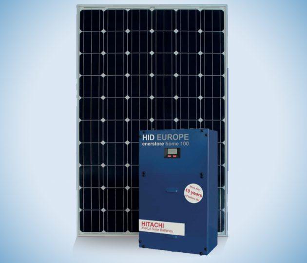Installation stockage batterie photovoltaïque