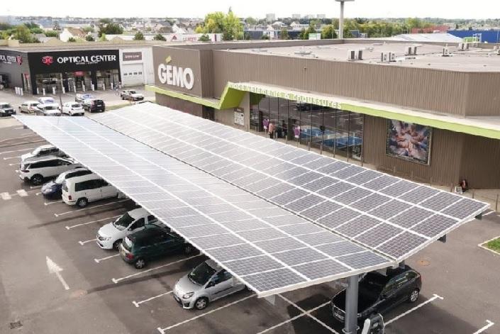 autoconsommation pergolas carpot panneaux solaires