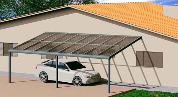 installation pergola solaire photovoltaïque