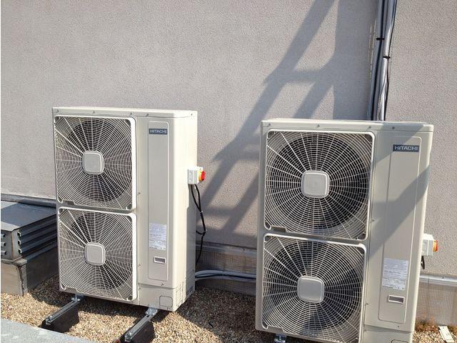 Installation pompe à chaleur AIR EAU avec action logement à narbonne réalisée par Synergys