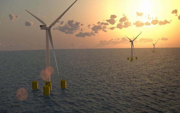 Un parc éolien flottant au large de Belle-Ile : feu vert du gouvernement au projet