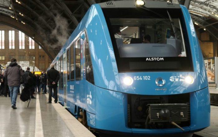 Quatre régions commandent les premiers trains à hydrogène de France