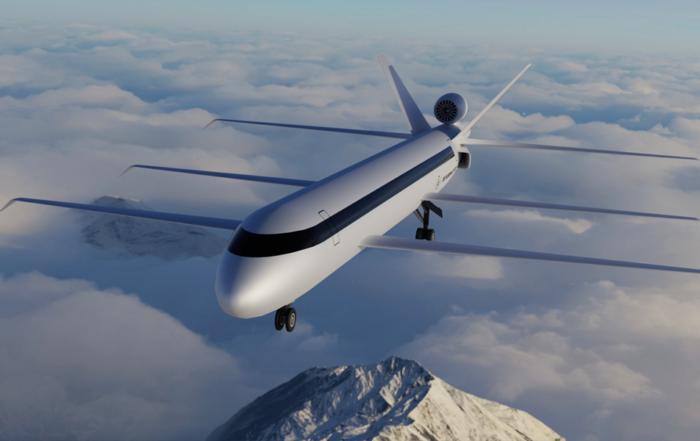 Cet avion à 6 ailes consomme 70% de kérosène en moins