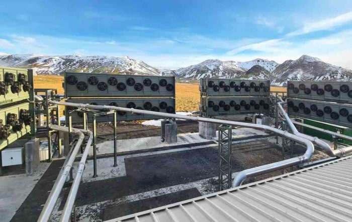 La plus grande centrale de captage du CO2 dans l'air vient d'entrer en service